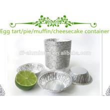 Petit plateau à tarte en aluminium Plaques de cuisson à micro-ondes