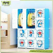 Perfect Design Home Storage Portable Kids Wardrobe