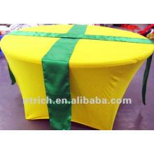 toalha de mesa de elastano/lycra