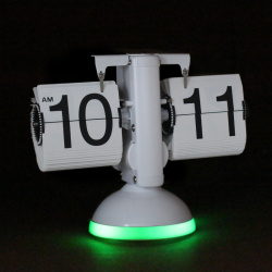 Flip Clock with LED Light Sound Controlled