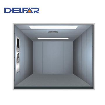 Gran ascensor de carga con gran espacio de Delfar