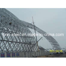 Power Station Metal Frame Project Steel Space Truss Roof System