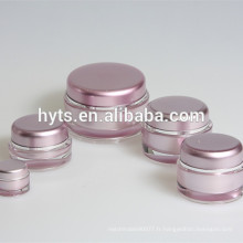 Pots cosmétiques en gros de différentes tailles