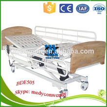 wood hospital bed home care electirc bed