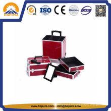 Съемный алюминиевый большой чемодан на колесиках с зеркалом Hb-3320