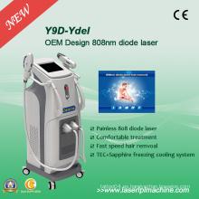 Máquina profesional permanente de la eliminación del pelo para el laser Y9d del diodo 808nm