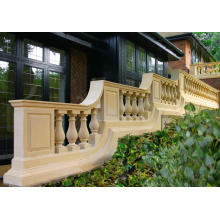 Hand Carved White Marble Handrail For Home
