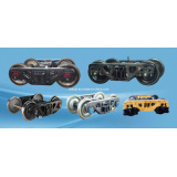 Hot-Selling Railway Bogie K1/K2/K3/K4/K5 Axle Load 21t-25t