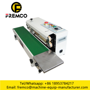 Horizontal Continuous Band Sealers Machine