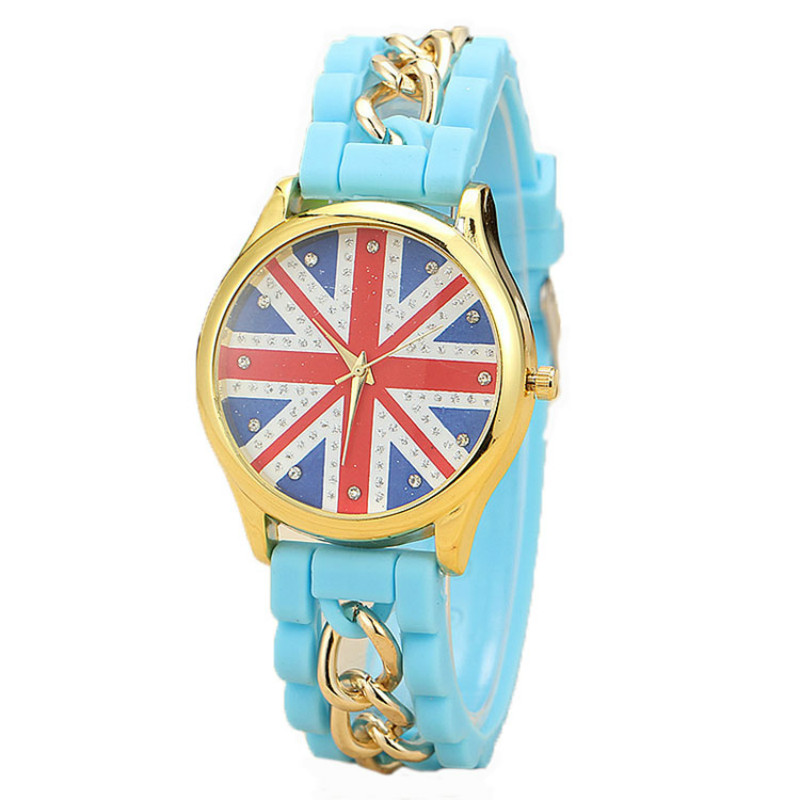 New Arrival Women Quartz Silicon Strap Watch