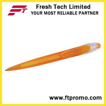 Bolígrafo al por mayor de la promoción con la insignia