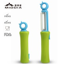 Kitchen Ceramic Retractable Pocket Peeler for Fruit & Vegetable Paring