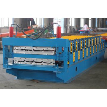 Doppelschicht-Roofing-Blatt-Rolle, die Maschine bildet