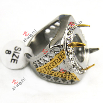 Wholesale Indonesia 316L Stainless Steel Rings for Men Jewelry (SSR-07)