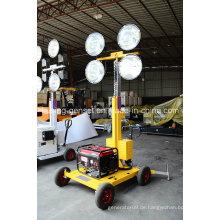 M500 Serie mit 5kVA Generator Mobile Light Tower Generator Set / Diesel Generator Set / Diesel Generator Set / Genset / Diesel Genset