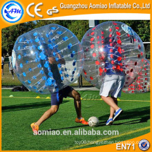 Best quality bumper ball inflatable ball suit/bubble soccer ball sale