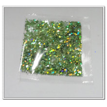 Bagged glitter powder