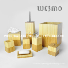 Conjunto de acessórios de banho de bambu (WBB0610A)