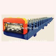 QJ cor automática de aço deck duplo formando máquina