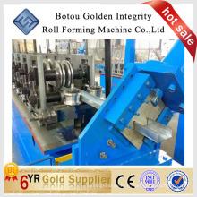 Machine de formage de rouleaux de purlin / c / z qualifiée / machine de formage de rouleau à froid ligne de travail