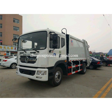 DONGFENG 6wheels compress delivery loading transit garbage truck