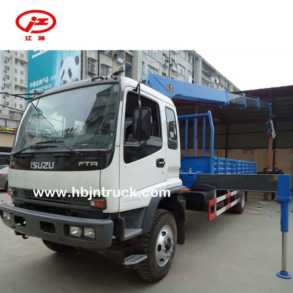Isuzu Crane Truck