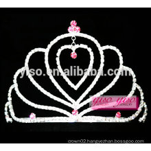 beautiful hearts lover jewelry tiara