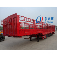 China Manufacturer CCC ISO 3 Axles Box Stake Truck Trailer