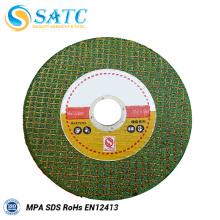 Disco de polimento verde da roda da interrupção para a venda