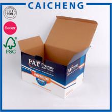 Caja de empaquetado de cartón corrugado de impresión personalizada para piezas de automóviles