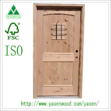 Fashionable Design Exterior Solid Wood Door