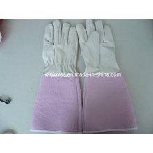 Белые Перчатки-Розовый Перчатки-Защитные Перчатки-Перчатки Сада