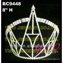 Coroas de cristal arco íris