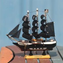 mão chinesa esculpida barcos de madeira barco modelo de madeira