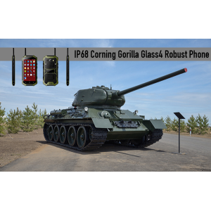 IP68 Corning Gorilla Glass4 telefone robusto