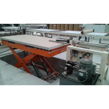 600x600mm Double sides laminate machine of plaster board with automatic film