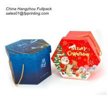 foldable Christmas Gift Packaging Paper Bag