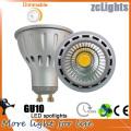 Dimmable 7W GU10 Светодиодные пятно света с Ce