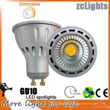Dimmable 7W GU10 LED Spot Luz con Ce