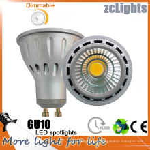 Dimmable LED GU10 avec 7W COB LED Lampe