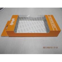 Caixa de papel de dobramento do retângulo fino feito sob encomenda da impressão para a medicina