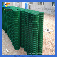 PVC Coated Quality Green Square Widely Welded Wire Mesh Rolls