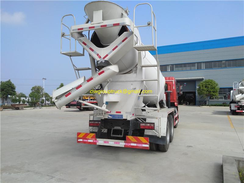 Cement Mixer Truck 3