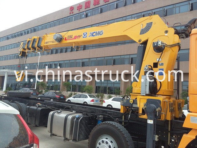 Shacman Lorry crane