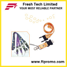 Promotional Lanyard USB Flash Drive (D181)