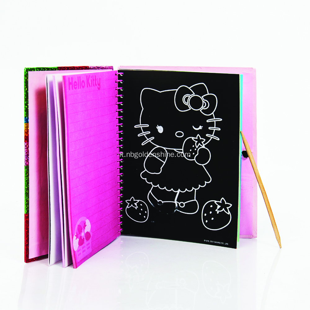 Graffi l'arte holografica Sticker Journal Notebook