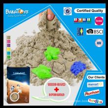 6 cores DIY brinquedo de areia mágica