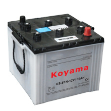 Us6tl / Us6tn, das trockene geladene LKW-Batterie 12V100ah / 125ah beginnt