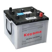Us6tl / Us6tn que comienza la batería cargada en seco 12V100ah / 125ah del camión