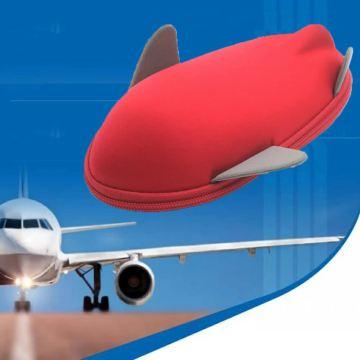 Hot new plane shaped eva custom storage case for pencil